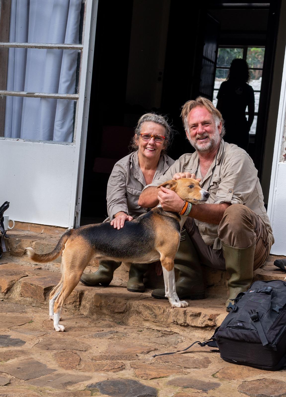Jacha & Gwyn at Lwiro Primate Rehabilitation Centre