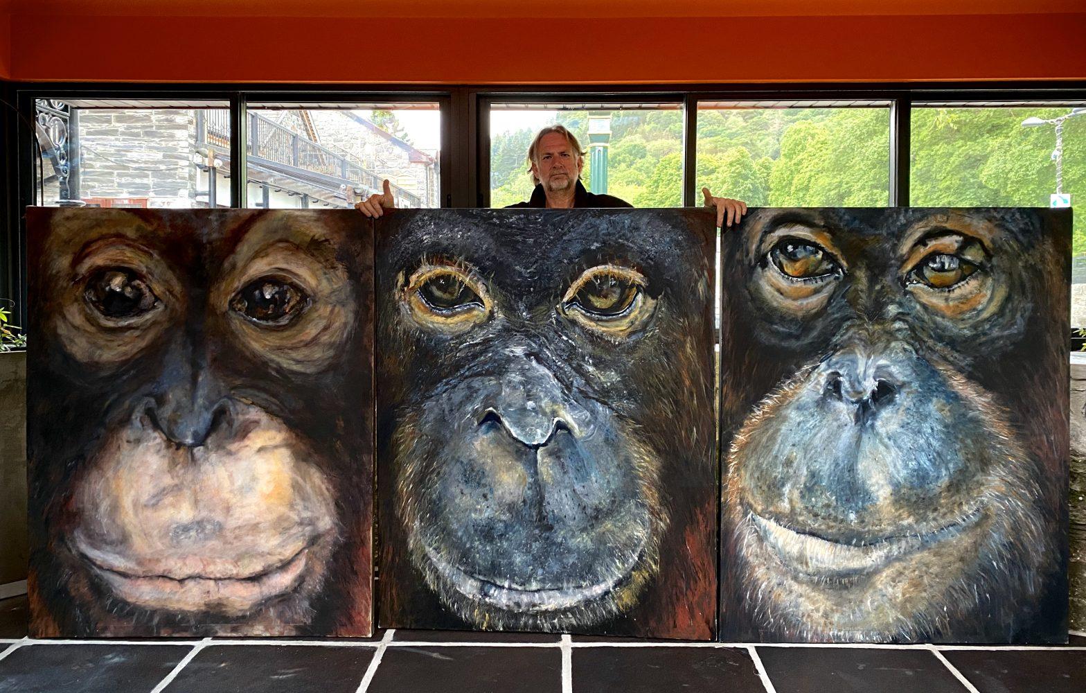 Showcasing Jacha Potgieter's artwork